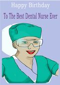 Dental Nurse - Greeting Card